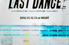 Big Bang Reveals Teaser Photo For 'Last Dance' Track