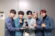 B1A4 Wins on 'The Show' Plus Jinyoung Wants To Work With Gfriend And Twice