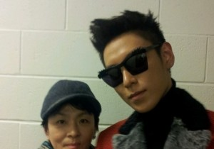 Big Bang's T.O.P Reveals Photo Taken with His Mother 'She Looks Like She Can Be His Aunt'