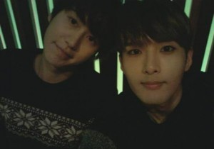 super junior ryeowook kyuhyun eating together