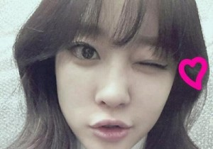 Rainbow Woo Ri, Cute Winking Self-Camera 'Heart Melting'