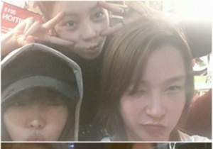 bae yoon jung naked face picture with goo hara and narsha