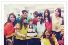 9Muses, Cute Group Picture In Celebration of New Album