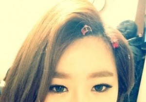 Brown Eyed Girls' JeA, Innocent Bright Self-Camera