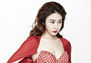 yoo in na photo shoot with jo sung kyung