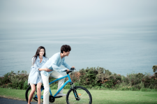 Jun Ji-Hyun and Lee Min-Ho in the shooting location of