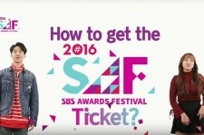 SBS is giving away tickets to see 2016 Gayo Daejeon to fans world wide.
