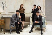 "All cast members of the drama ""Guardian""/""Goblin"" in a photo session."