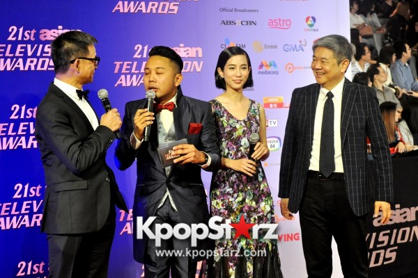 Asia's Musical Talent Amber Liu, Charli XCX, JJ Lin, Rossa and Ivy Grace Paredes Come Together For Asian Television Awards [PHOTOS]key=>29 count37