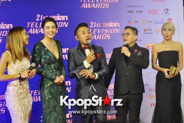 Asia's Musical Talent Amber Liu, Charli XCX, JJ Lin, Rossa and Ivy Grace Paredes Come Together For Asian Television Awards [PHOTOS]key=>30 count37