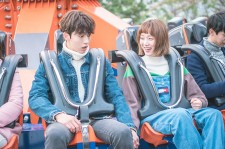 "Nam Joo-Hyuk and Lee Sung-Kyung in the MBC drama ""Weightlifting Fairy Kim Bok-Joo"" Episode 11."