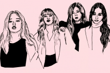 Blackpink illustrated by Liz Riccardi