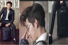 Yoon Kye Sang Poses for 'L'Officiel Hommes'