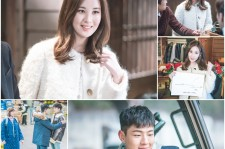 "Girl's Generation member Sohyun and Ji-Soo in their cameo appearance in ""Weightlifting Fairy Kim Bok-Joo"" drama."