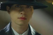 A close-up picture of Lee Dong-Wook as Grim Reaper in tvN drama
