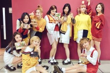 The girls of Twice with their dosiraks.
