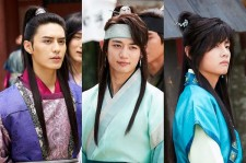 Do Ji-Han,Choi Min-Ho and Park Seo-Jun in the KBS drama