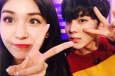 IOI Somi and Up10tion Wooshin