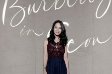 Song Ji Hyo attends the Burberry Seoul Flagship Store Opening Event on October 15, 2015 in Seoul, South Korea.