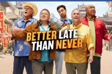 The cast of Better Late Than Never