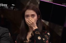 Song Ji Hyo broke into tears upon hearing Lee Kwang Soo's speech.