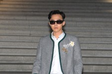 G-Dragon at the Chanel 2015/16 Cruise Collection show on May 4, 2015 in Seoul, South Korea.