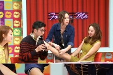 Actress Choi Yeojin revealed her calves measurement.