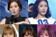 Red Velvet, SinB of G-Friend, Momo of TWICE, Choi Yoo Jung and Kim Chung Ha from IOI