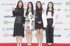 Red Velvet Irene (second from left)