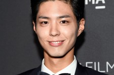 Park Bo Gum attends the 2016 LACMA Art + Film Gala honoring Robert Irwin and Kathryn Bigelow presented by Gucci at LACMA on October 29, 2016 in Los Angeles, California.