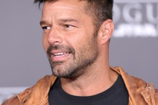Ricky Martin attends the premiere of Walt Disney Pictures and Lucasfilm's 'Rogue One: A Star Wars Story' at the Pantages Theatre on December 10, 2016 in Hollywood, California.
