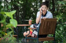 "Kim Yoo-Jung in the still image from the movie ""Because I Love You."""