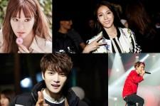 Tiffany, BoA, Jaejoong, iKON