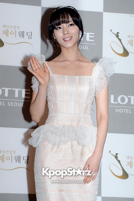 Wonder Girls Sunye's Wedding Press Conference at Seoul Lotte Hotelkey=>5 count17