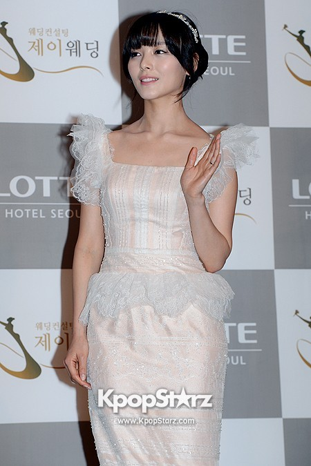 Wonder Girls Sunye's Wedding Press Conference at Seoul Lotte Hotelkey=>6 count17