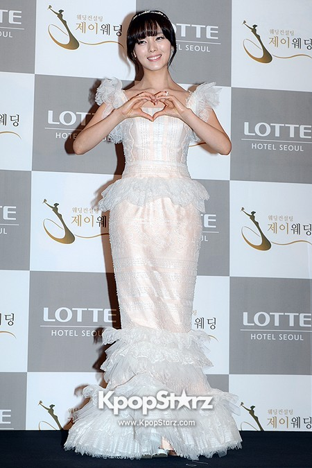 Wonder Girls Sunye's Wedding Press Conference at Seoul Lotte Hotelkey=>7 count17