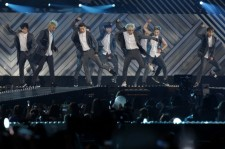 EXO perform on stage during the 20th Dream Concert on June 7, 2014 in Seoul, South Korea.