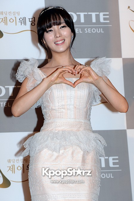 Wonder Girls Sunye's Wedding Press Conference at Seoul Lotte Hotelkey=>9 count17
