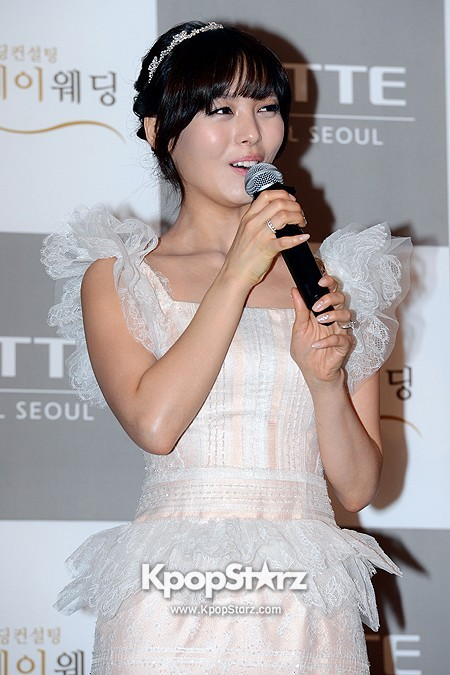 Wonder Girls Sunye's Wedding Press Conference at Seoul Lotte Hotelkey=>10 count17