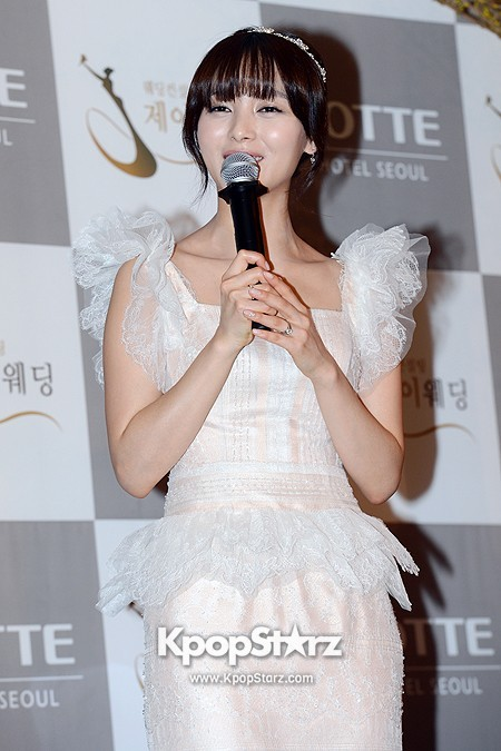 Wonder Girls Sunye's Wedding Press Conference at Seoul Lotte Hotelkey=>12 count17