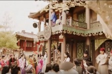 A scene from Hwarang, the Poet Warrior, initial episode.