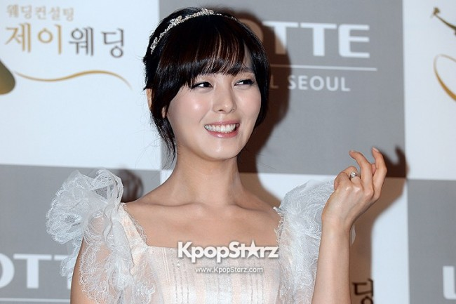 Wonder Girls Sunye's Wedding Press Conference at Seoul Lotte Hotelkey=>0 count17