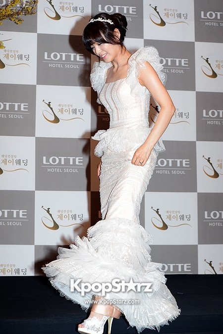 Wonder Girls Sunye's Wedding Press Conference at Seoul Lotte Hotelkey=>15 count17
