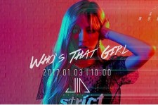 "Meng Jia's teaser for ""Who's that girl""."