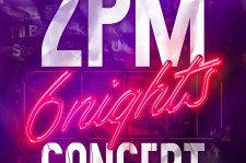 Official poster for the last concert of 2PM titled
