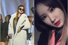 LE of EXID as she performs at the Hip hop Nation2 recently.