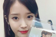IU showed her pass for Lee Joon-Gi fan meeting in Taiwan on Jan. 8, one day after her concert.