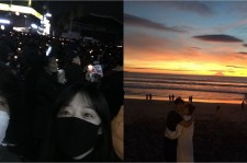 Couple photos of Sulli and Choiza from their Instagram accounts.
