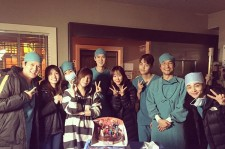 "The cast and crew of ""Romantic Doctor, Teacher Kim""."
