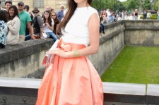 Jun Ji-hyun attends the Christian Dior show as part of Paris Fashion Week Haute-Couture Fall/Winter 2013-2014 at on July 1, 2013 in Paris, France.